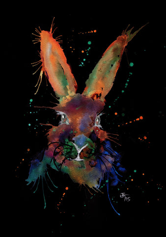 "Jamie Taylor Enchanted range ""Mr Bunny"" Print or Ready to hang Canvas"
