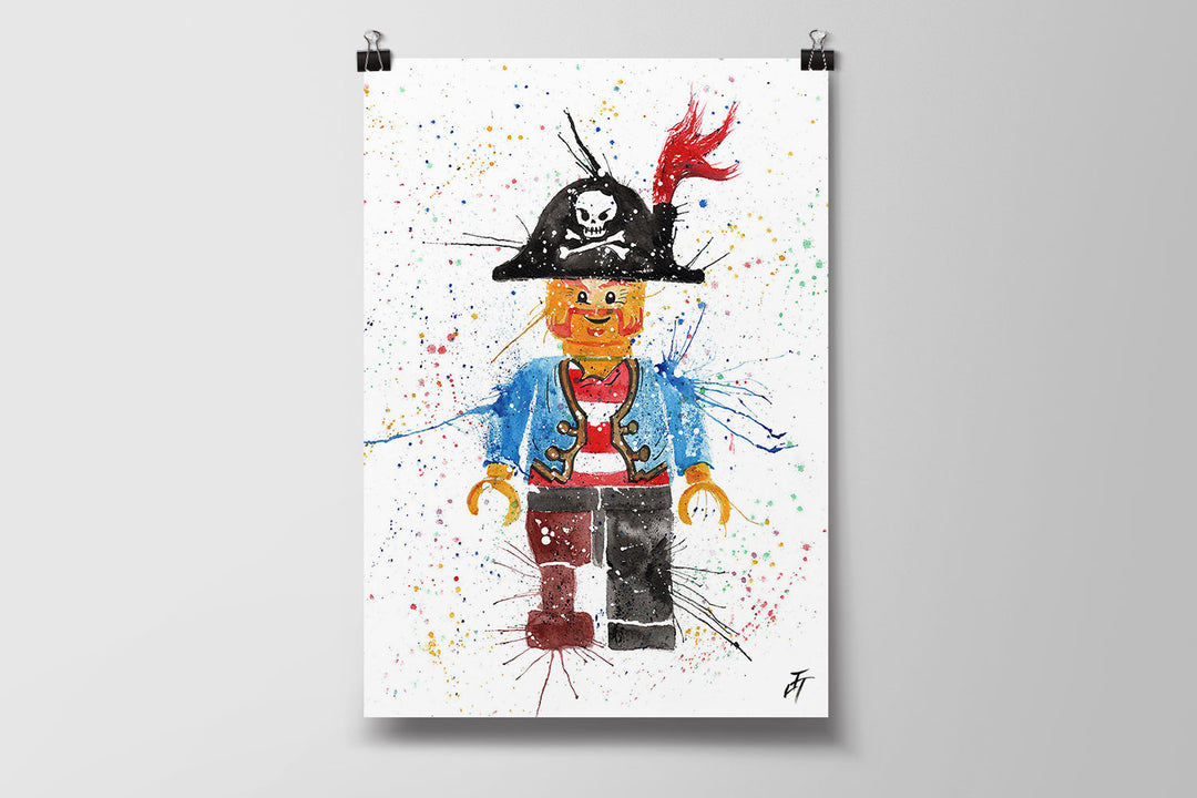 Arggghhh Pirate Art Poster Print