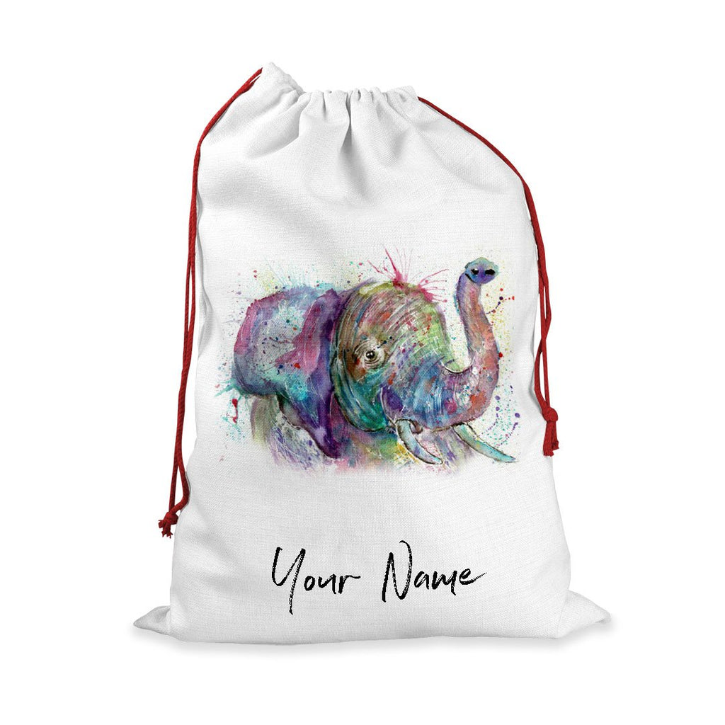 """Ele"" Elephant Personalised Santa Sack"