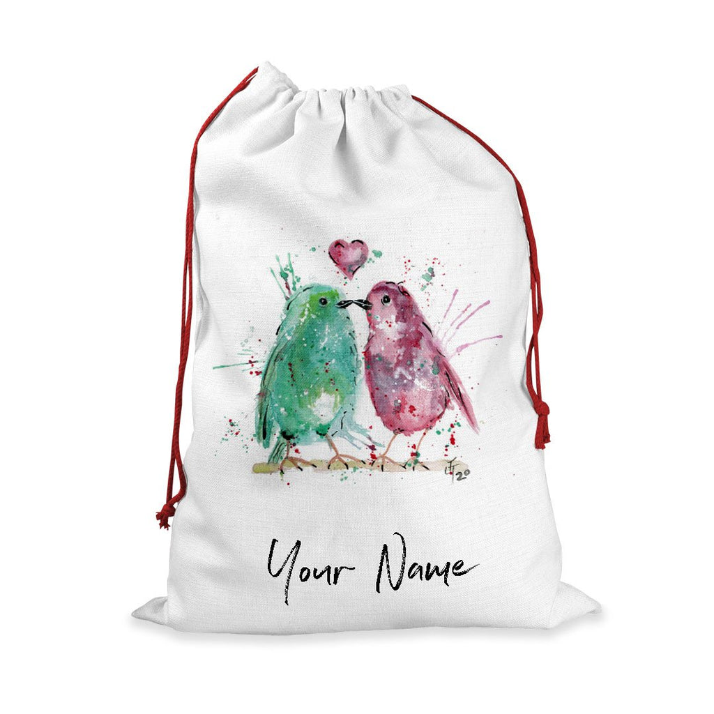 Tweet Heart Personalised Santa Sack