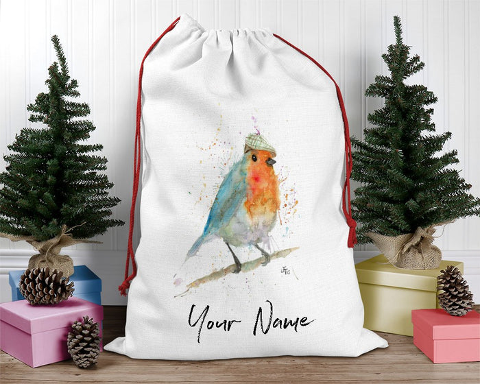 Mr Robin Personalised Santa Sack