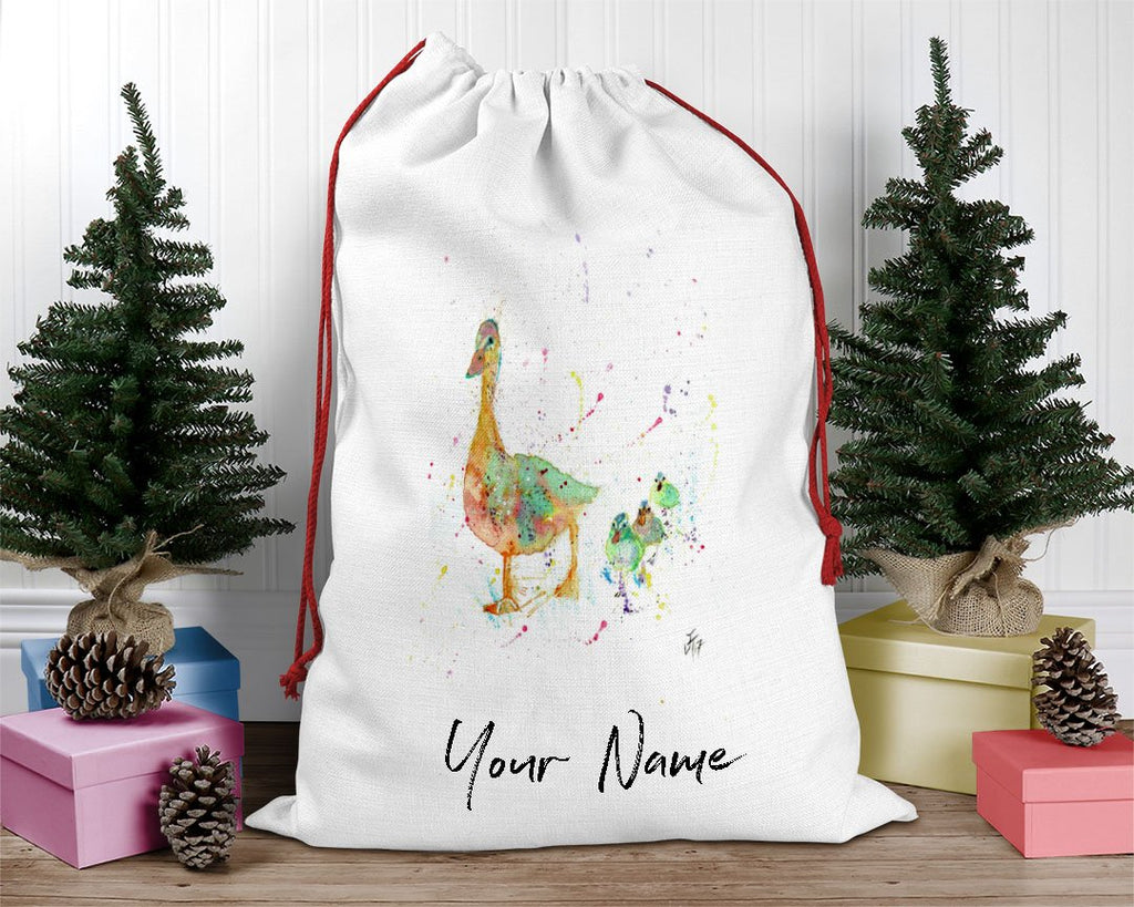 Waddle Personalised Santa Sack