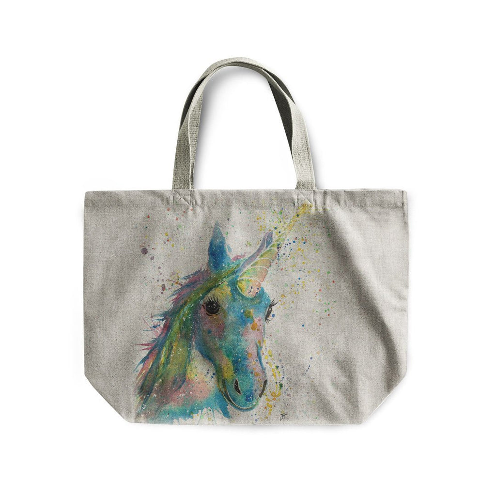 """Patty"" Unicorn Linen Tote Bag"