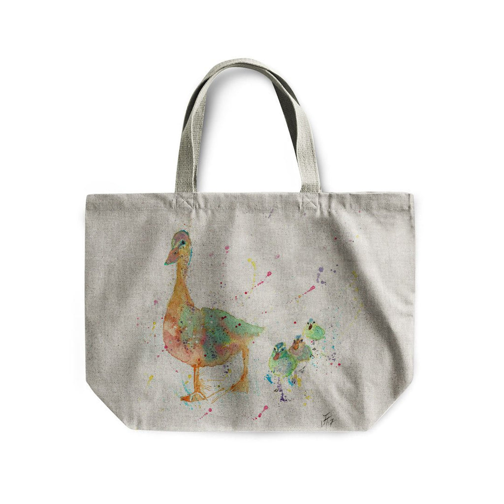 Waddle Linen Tote Bag