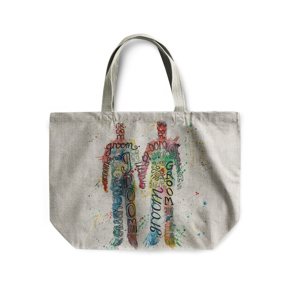 Groom & Groom Linen Tote Bag