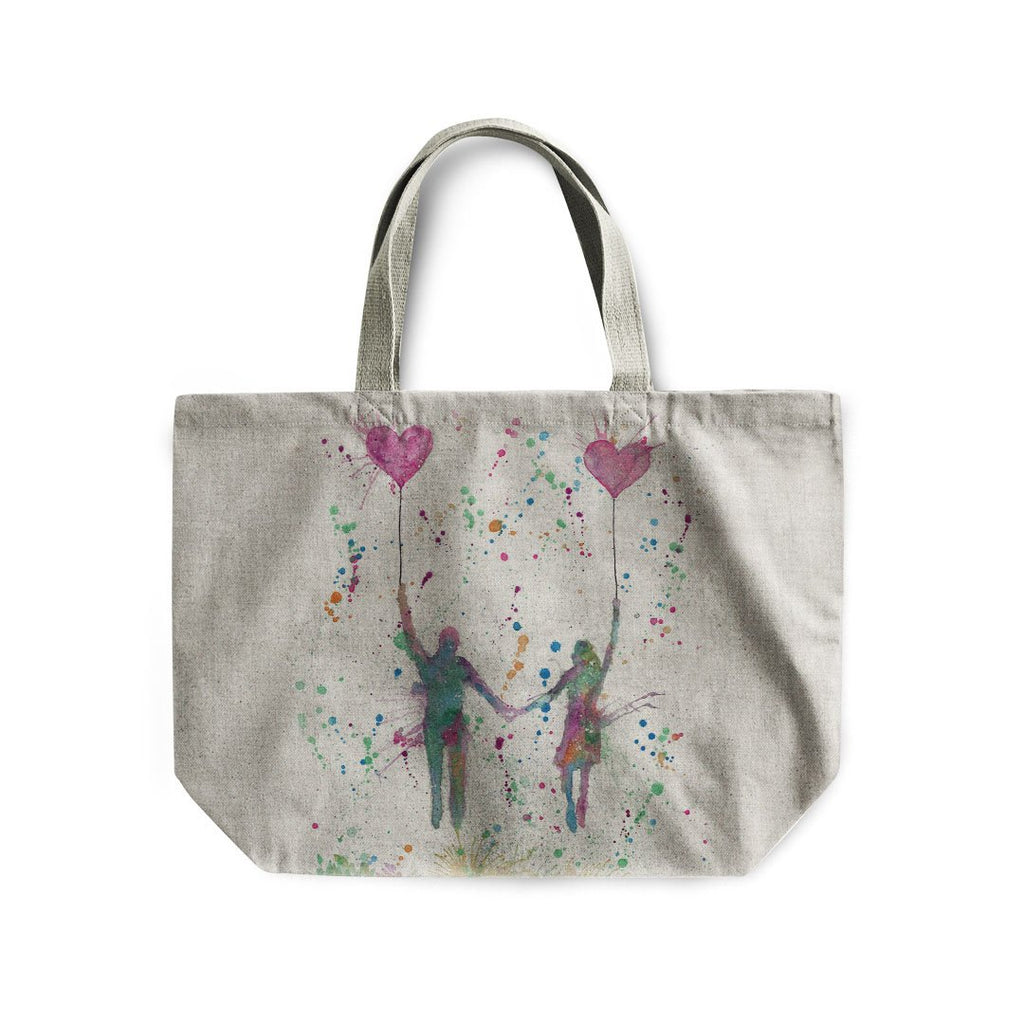 Fly Away With Me Linen Tote Bag