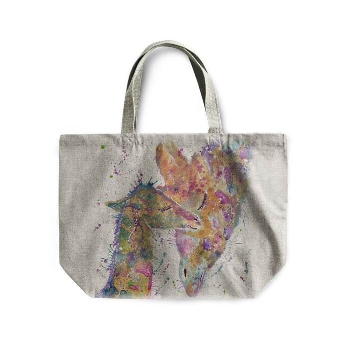 Hope Linen Tote Bag
