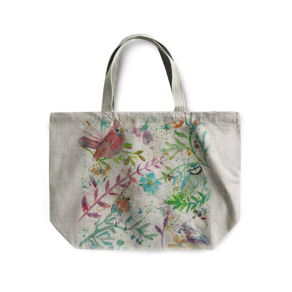 Hedgerow Linen Tote Bag