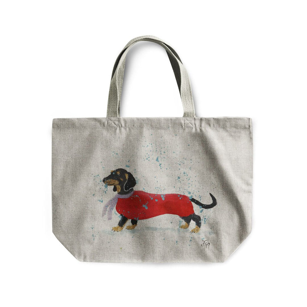 Sausage Roll Linen Tote Bag