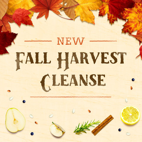 A Fall Juice Cleanse 100% organic in glass