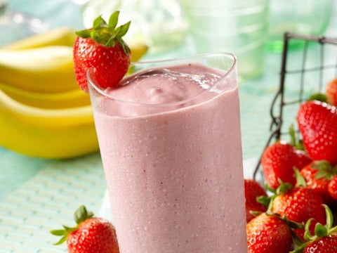 Pink Breakfast Smoothie