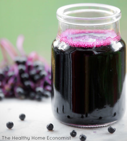 House Made Elderberry Syrup