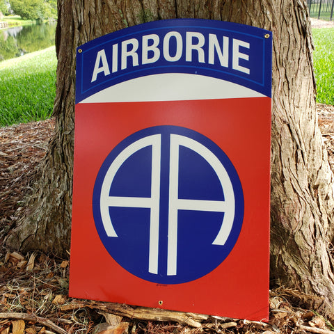 82nd Airborne Division Sign