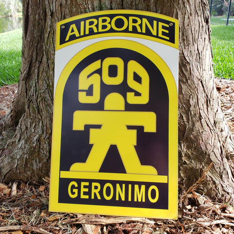 509th Parachute Infantry Regiment Sign