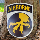 17th Airborne Division Sign
