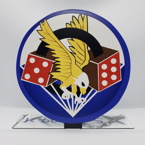 506th PIR 101st Airborne Division Table Sign