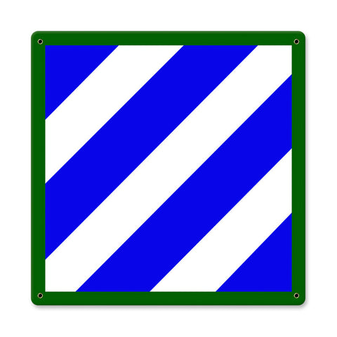 3rd Infantry Division Sign