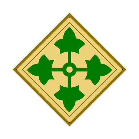 4th Infantry Division Sign