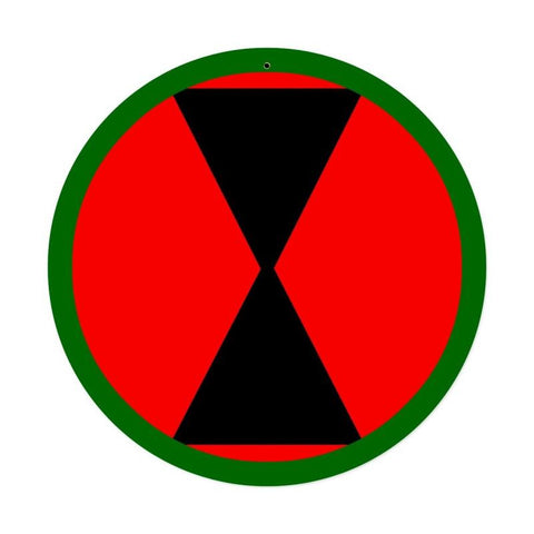 7th Infantry Division Sign