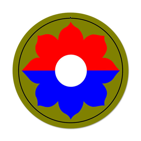 9th Infantry Division Sign
