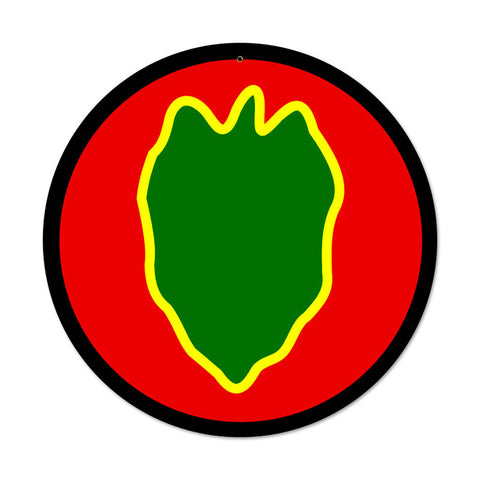24th Infantry Division Sign
