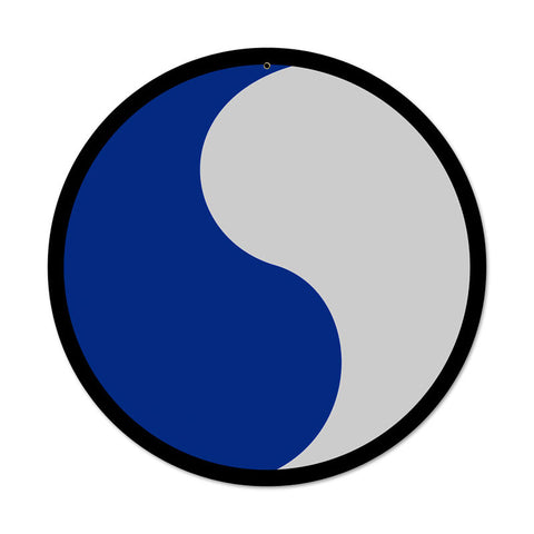 29th Infantry Division Sign