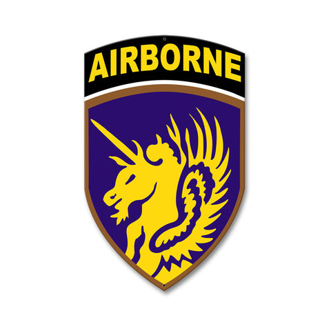 13th Airborne Division Sign