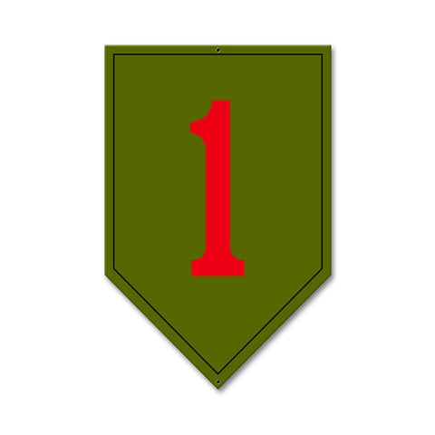 1st Infantry Division Sign