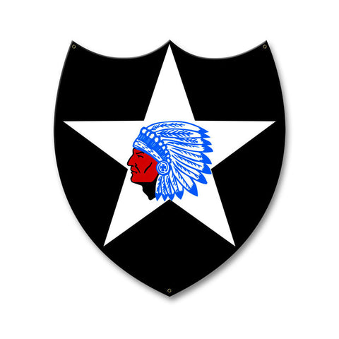 2nd Infantry Division Sign