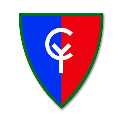 38th Infantry Division Sign