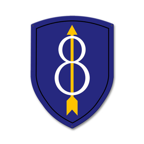 8th Infantry Division Sign