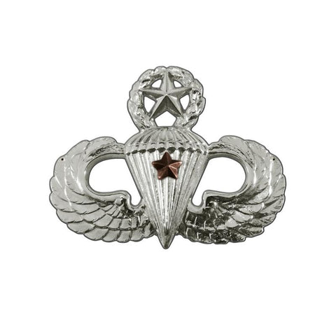 Parachutist Badge Master Combat Star Sign