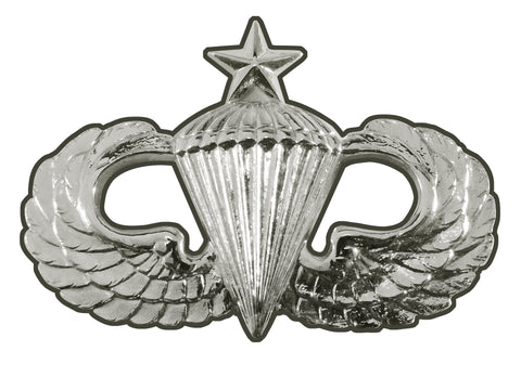 Parachutist Badge Senior Sign