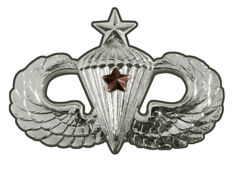 Parachutist Badge Senior Combat Star Sign