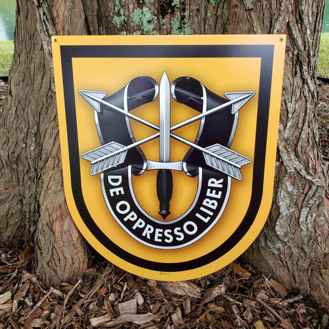 Special Forces 1st Group Sign