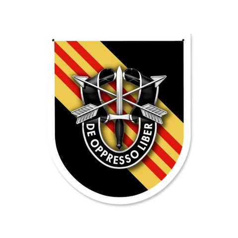 Special Forces 5th Group Sign 1964-1985, 2016-Present