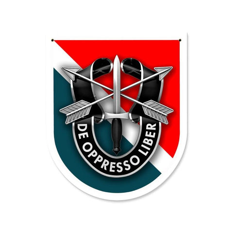 Special Forces 11th Group Sign