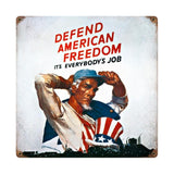 Defend American Freedom Sign