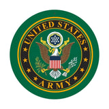 "Army Sign 10"" Round"