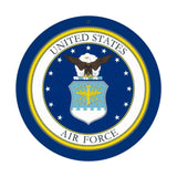 "US Air Force Sign 10"" Round"