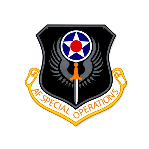 Air Force Special Operations Command Sign