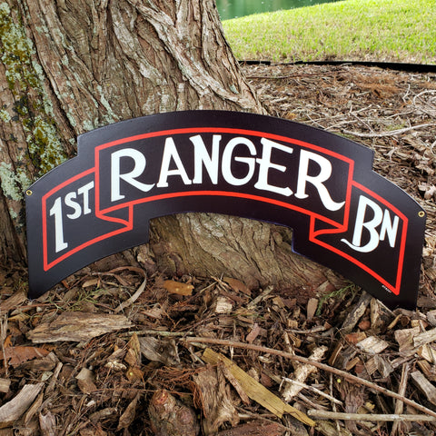 1st Ranger Scroll Sign