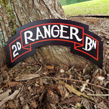 2nd Ranger Scroll Sign