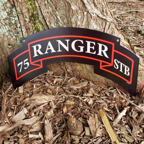 75th Ranger STB Scroll Sign