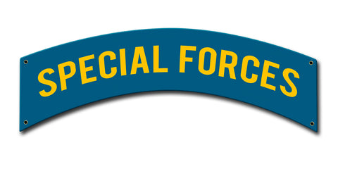Special Forces Tab Sign