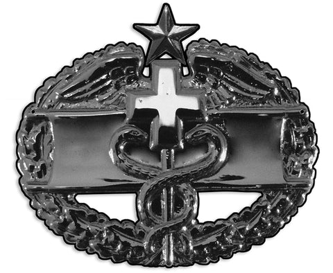 Medic Badge Combat 2nd Award Sign