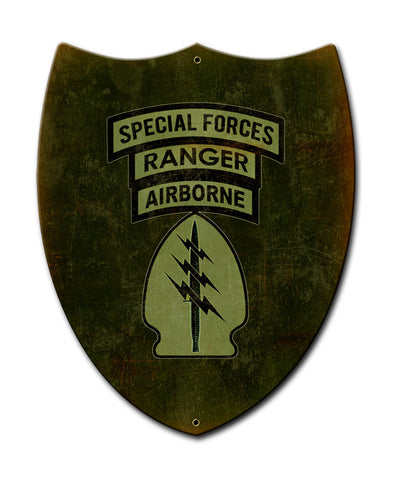 Special Forces Ranger Airborne Shield