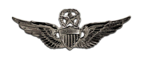 Master Aviator Wings Army Sign