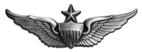 Senior Aviator Wings Army Sign