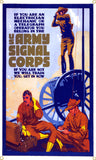 Signal Corps Vintage Recruiting Metal Art Sign